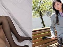 黒パンスト長身美脚が魅力的なG-areaのえなさんこと植村恵名さん