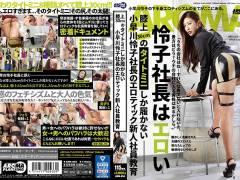 小早川怜子「膝上30cmのタイトミニしか履かない小早川怜子社長のエロティック新人社員教育」