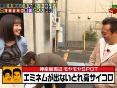 モヤさま田中瞳アナ、今週はおっぱいが目立ちすぎてしまう。
