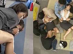 新春はSOD女性社員と仕事始めの羞恥ゲームでお屠蘇で酔ったら女性社員と乱交なのです