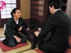 松本メイ 喪服姿のムチムチ巨乳ギャル妻が極太ちんぽ頬張り不謹慎セックス
