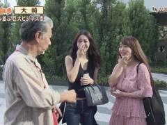 【悲報】地上波TV「じゅん散歩」に白石茉莉奈さんが偶然通りがかるハプニング