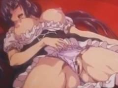 【エロアニメ】 女体化させられた主人公が金髪ふたなり美少女に中出しレイプされて女の快感教え込まれちゃうw