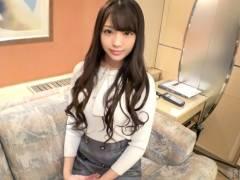 22歳フリーターの高身長美少女がAV応募で体験撮影。