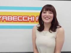 三谷紬アナが薄手のノースリーブでムチムチの豊満なエロおっぱいの形がくっきりの着衣巨乳キャプ!テレビ朝日女子アナ
