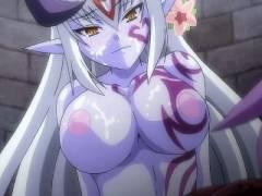 【エロアニメ】エロエロ女の子モンスターにザーメンを搾り取られるショタ勇者様