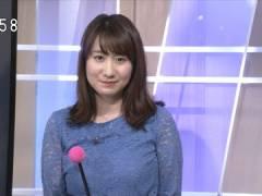 NHKお天気キャスター吉井明子さん、今週の爆乳。