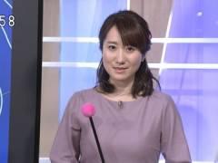 NHKBSお天気キャスター吉井明子さんのロケットすぎる横乳。