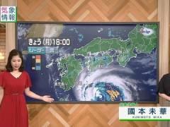 桑子真帆アナ、最近の目立ってしまう横乳。