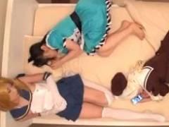 コスプレイヤーの妹がレイヤー友達連れてきたので薬で眠らせ勝手にハメレ○プ!好きな穴に挿入れ放題