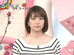 笹崎里菜アナの黒いブラジャーの肩紐がちらりキャプ!日本テレビ女子アナ