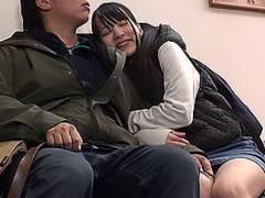 あべみかこ ロリ顔ツインテールの激カワ姪っ子とイチャラブデート!映画館でキスするとそのまま手コキ