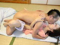 武藤あやか スレンダーな人妻が義兄に寝取られてしまい中出しセックスをしてしまう