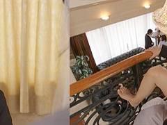 美人ウェディングプランナー古川いおりさんが結婚式当日に新婦の目を盗んで新郎を寝とる!