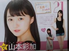 【朗報】NMB48山本彩加がミスセブンティーン最終候補に残るwwwwww