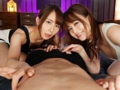 元恵比寿マスカッツ吉沢明歩様&希崎ジェシカ姐さんが夢のAV初共演