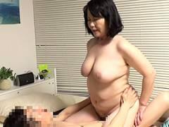 【熟女】63歳のダルマみたいなババアを自宅でハメる一部始終