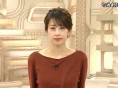 加藤綾子の着衣巨乳キャプ!フリーアナウンサー