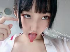 無修正のマンコをくぱぁしてる中国人ロリ顔女子のエロ垢を発見!オフパコっぽいものもあったぞ!