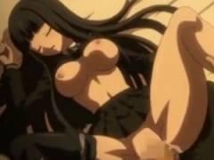 【エロアニメ】 黒髪ぱっつん黒スト黒セーラーの美少女とセックス