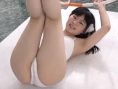 笑顔が可愛すぎるJCジュニアアイドル河合玲奈ちゃん、マンスジと食い込みが顔に似合わなすぎてやばい