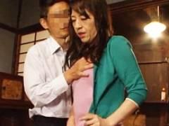 汚い男どもに緊縛拘束されアナルを掘られる四十路妻 朝宮涼子