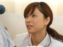 四十路ナースが患者の真上に反り立った勃起チ○ポに興奮し… 松嶋友里恵