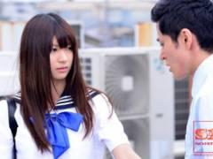 緒川りお 清純な美少女JKが盛った同級生達のイキり立ったチンポを無理矢理咥えさせられる