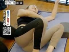 美のカリスマ、神崎恵(44)、スパッツ尻透け、ビキニおっぱいエロすぎ!!