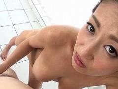 【吹石れな】 巨乳美熟女ソープ嬢との主観中出しセックス 【tube8】