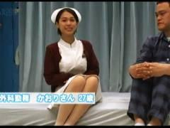 【マジックミラー号】ショートカットの親切な看護婦!見るからに童貞なおっさんとヤリまくりです!