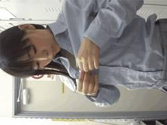 エロNGの撮影モデルさんが更衣室で着替えてる姿を正面から隠し撮りされてる映像入手・・悪質!