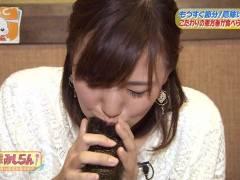 関西の至宝ABC斎藤真美アナ擬似フェラ顔キャプまとめ