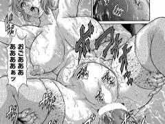 【エロ漫画】変な宗教に引っかかった夫が妻を売り、目前でア○ルを拡張されるwww