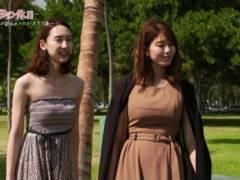 稲村亜美のムチムチのはち切れそうなロケットおっぱいの形がくっきりの着衣巨乳キャプ!