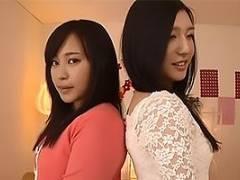 古川いおり 浅野えみ 激カワ女優と女子社員が4P乱交ファック!あまりの快感にアヘ顔絶頂