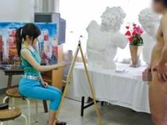 通野未帆 水原さな 絵画教室に通う2人の人妻。旦那と全く違うデカチンに大興奮!