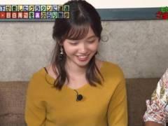田中瞳アナがモヤさまでブラジャーの肩紐が丸見えハプニングキャプ!テレビ東京女子アナ