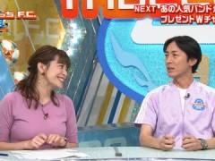 テレ朝・三谷紬アナのサッカーボール級のおっぱい。