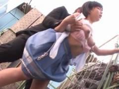 紗倉まな 性犯罪に巻き込まれた美女が青空の下で強引にチンポをぶちこまれ、快感で乱れ狂う!