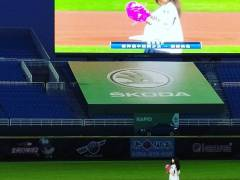 【悲報】齋藤飛鳥が台湾で始球式するも観客がいないwwwwww