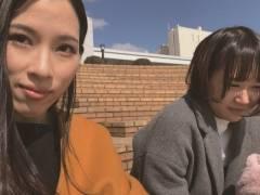 【素人】『あかん…イク!見んといて!』飛び交う関西弁の喘ぎ声。神戸在住の女の子が友達と一緒に3PでAV出演!