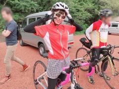 【画像】小嶋菜月がロードバイクで約70キロの道のりを見事完走wwwwwww