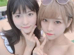 【過激画像】市川愛美さん 金髪水着姿に「ビッチ」「ヤンキー」と批判殺到wwwwwwwwww