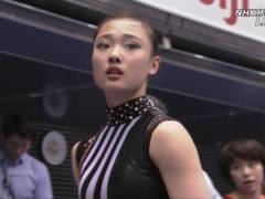 【※速報・画像あり】NHK杯体操女子で透け尻をLIVE中継された17歳JK 憤死www なに透けとんねんワロタwwwwwwwwwwwwww