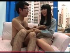 【マジックミラー号】デカパイの女子大生が童貞をセックス!