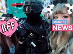 渋谷ハロウィンメイン日→案の定お持ち帰り出来そうなDQN仮装女子が大量に集結していた模様!