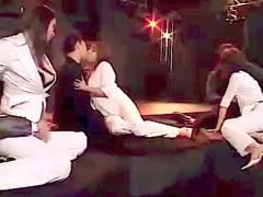 【風間ゆみ】なんと淫らな3組の淫乱バカップル!ハプニングバーで乱交してもう快感が止まりません!