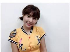 【動画あり】台湾野球の巨乳チア 乳袋ぷるんぷるんでエロすぎわろたwwww