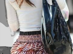 度を超えた圧倒的ミニスカ!ちょっと歩いただけでパンチラしちゃう超ミニ丈スカートで街を歩くクレイジーな女達wwww